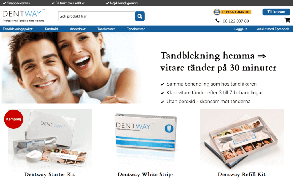 Dentway tandblekning
